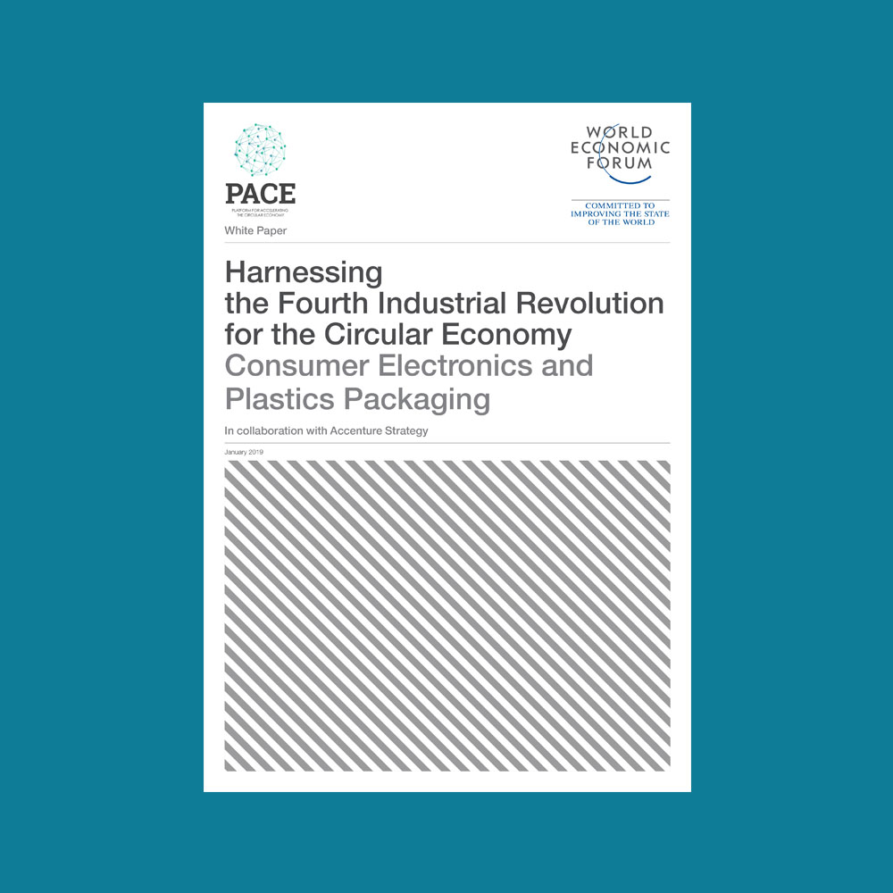 Harnessing the Fourth Industrial Revolution for the Circular Economy - Consumer Electronics and Plastics Packaging