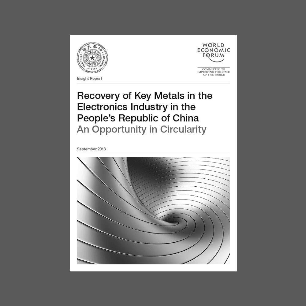 Recovery of Key Metals in the Electronics Industry in the People's Republic of China -