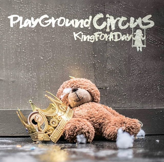 After lots of blood, sweat & tears our album is finally out! We are so proud of all the effort we put into it, and we hope you'll love it too! 👑🧸 Enjoy King For A Day on Spotify and every digital platform.  Link in bio to listen to it NOW!  #kingforaday #playgroundedinuk #punkrock #newalbum #spotify