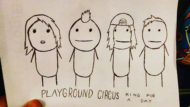 What a cute artwork! This can be easily made onto a t-shirt don't you think? #playgroundcircus