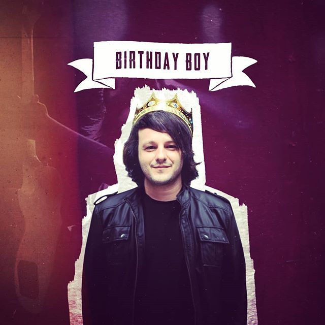 El has his birthday today!!!!! If you see him give him a beer and a smooch... Otherwise go spam his social media!! Happy birthday brother  #playgroundedinuk #playgroundcircus #elfragotsis #birthday #birtdayboy