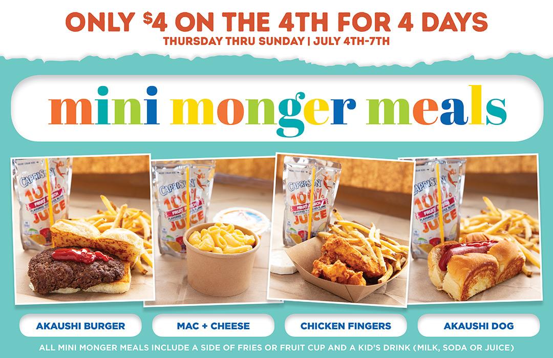 burger monger 4th of july