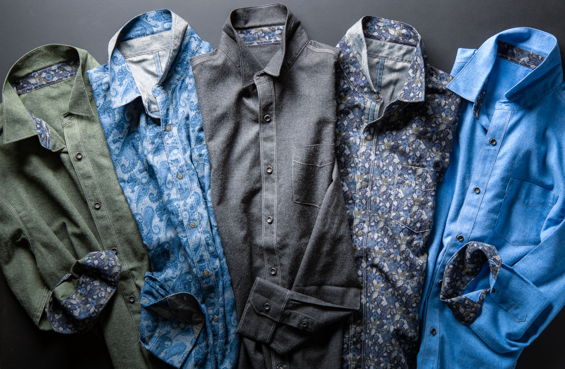 PRINTED BRUSHED FLANNELS