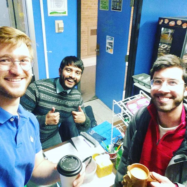 @senecavelling grabs coffee in the @sciencecnd after getting demolished on a BioMaterials Midterm!  #Vote #FedsElections #UWvotes #TeamIgnite #BeyondBarriers #BeyondFaculties