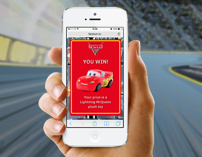 instant win - Drives repeat purchase for FMCG and retail using prizes and rewards