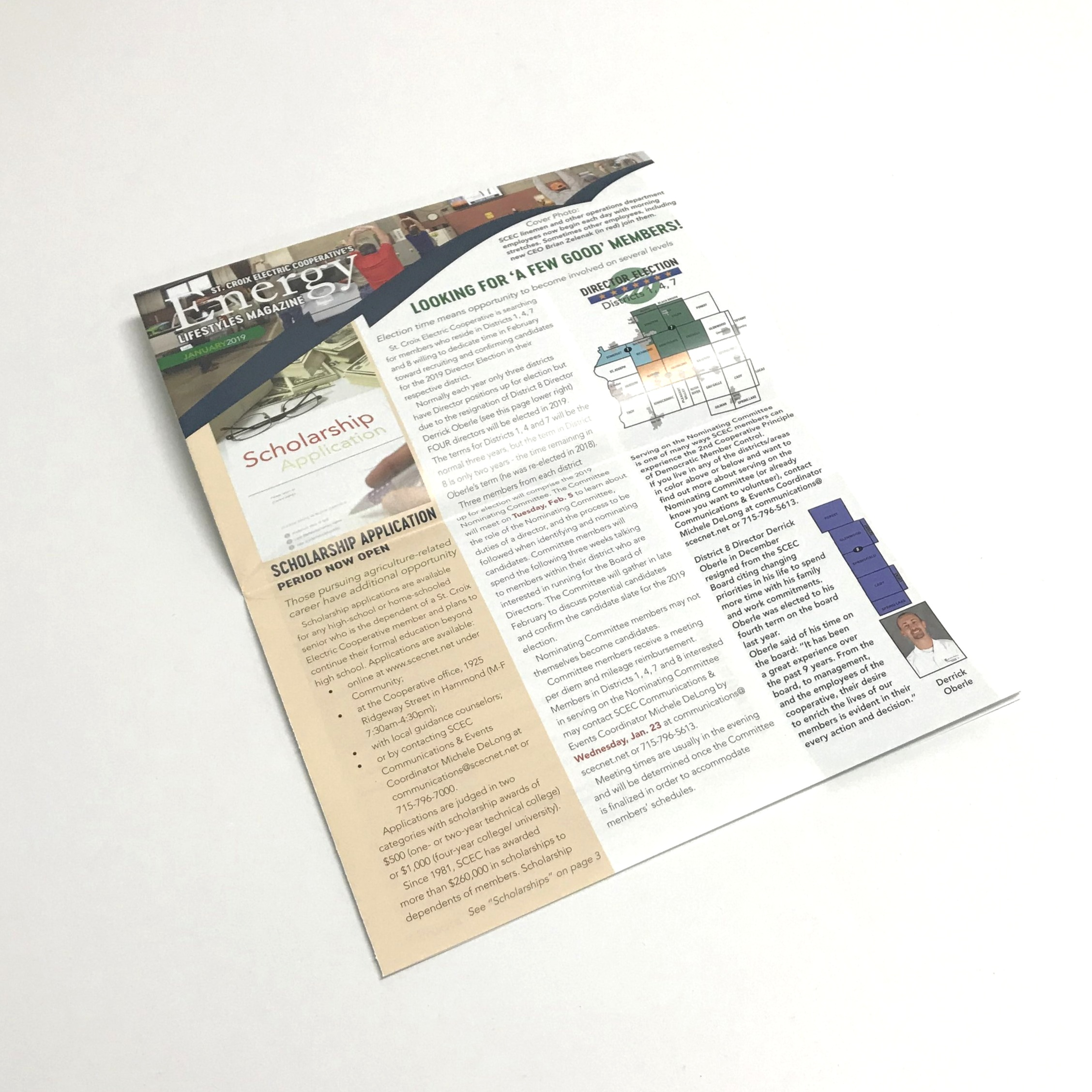 Professional corporate newsletters for businesses printed in Minnesota