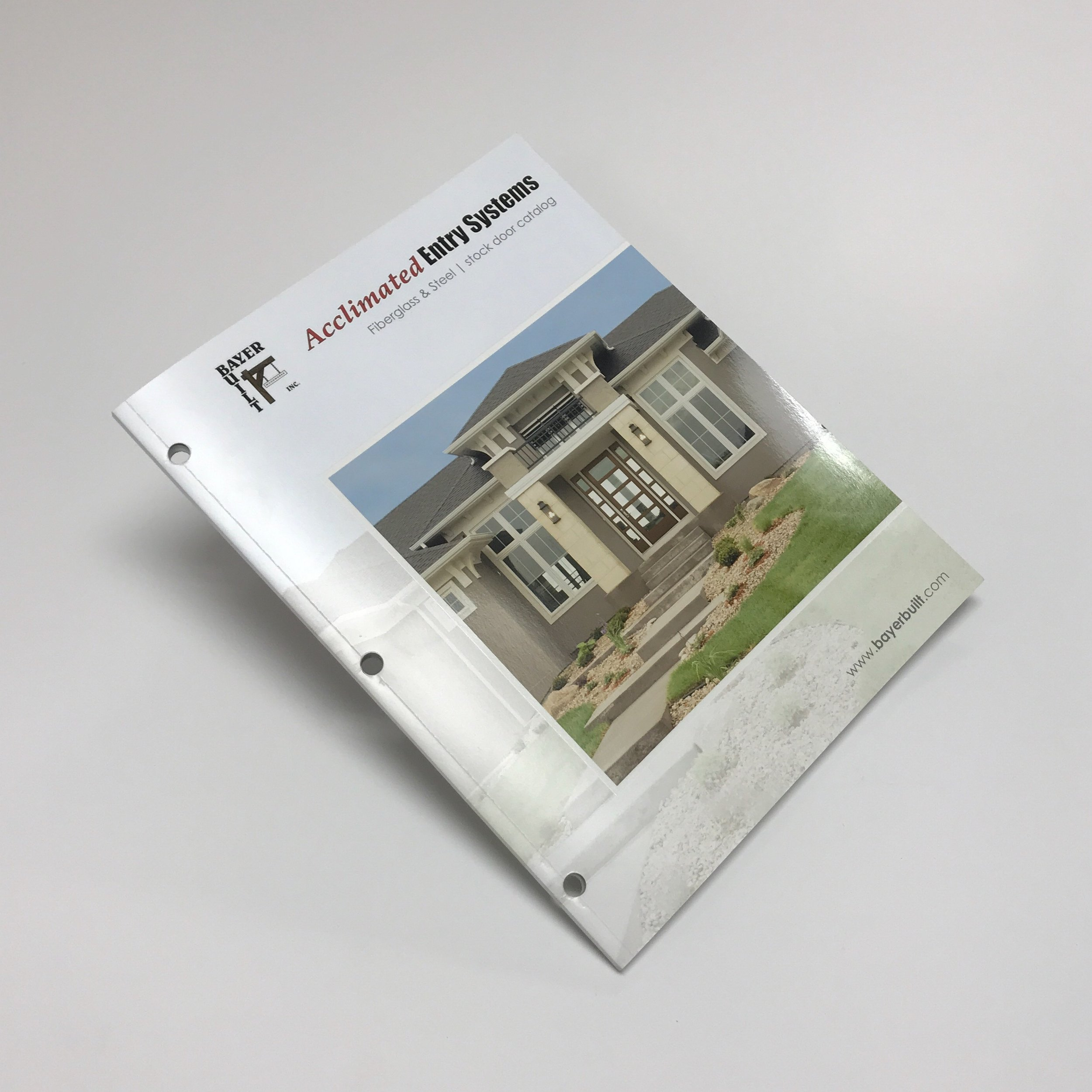Professional corporate informational magazine printed in Minnesota