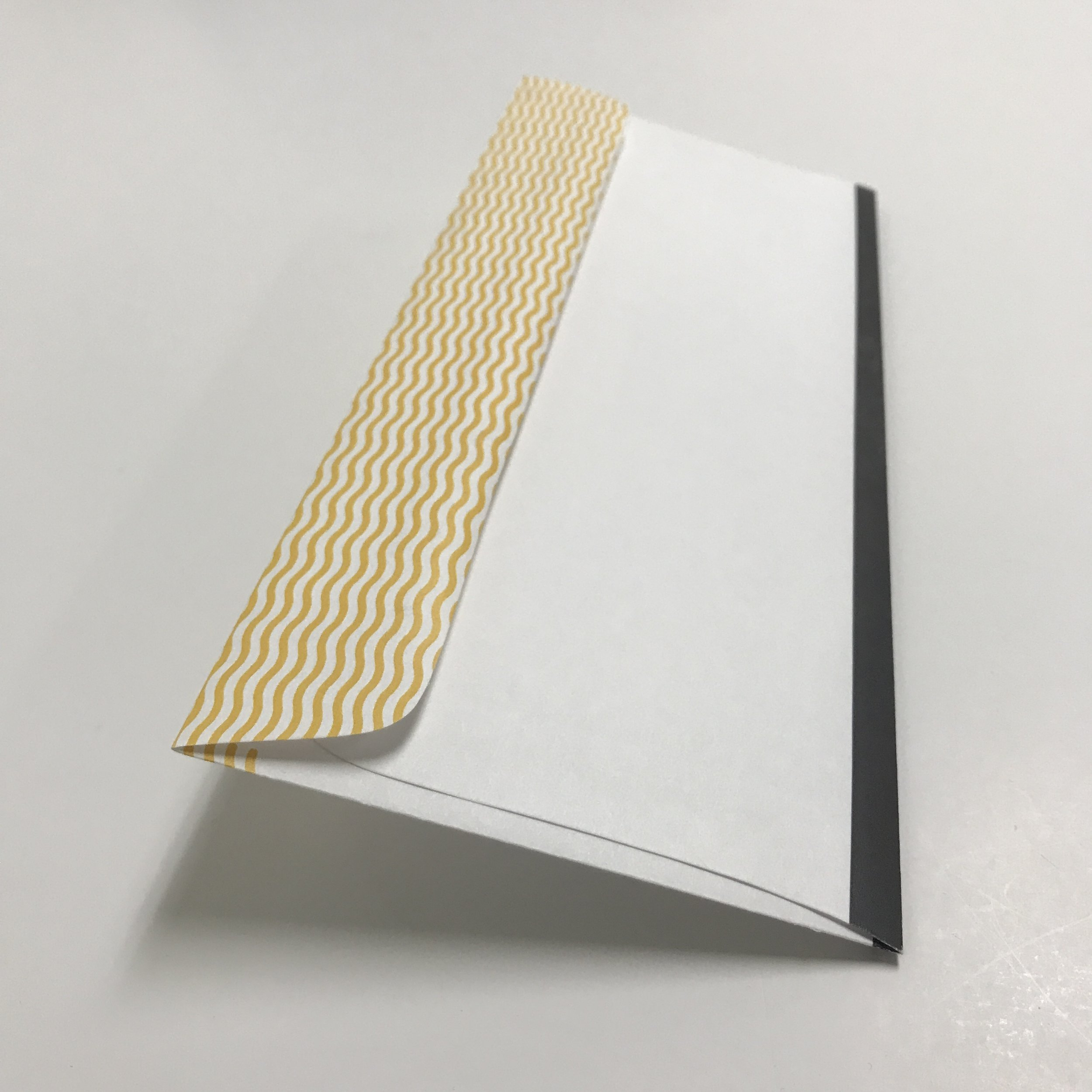 Corporate envelope with unique design printed in Minneapolis
