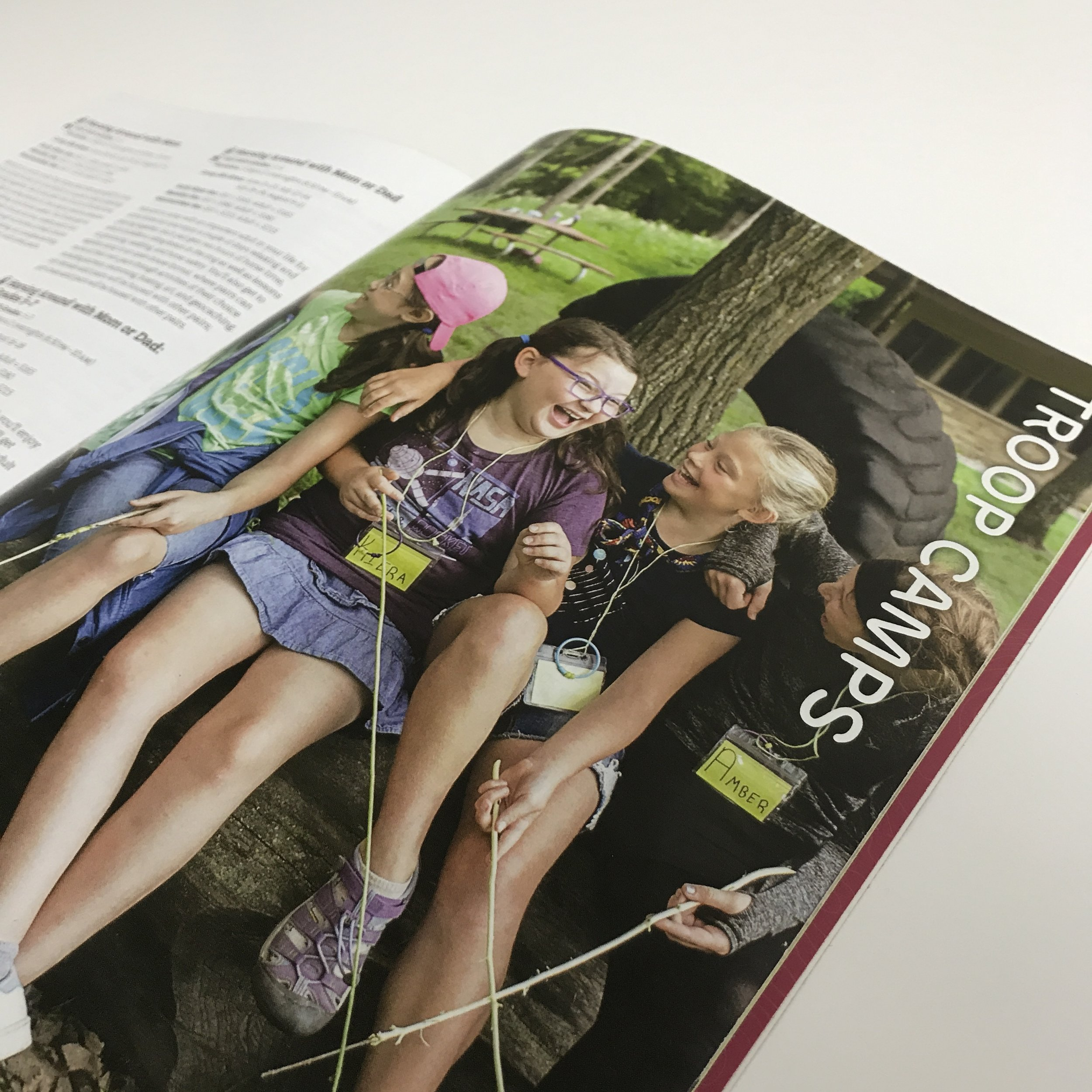 Non-Profit magazine with saddle stitching printed in Minneapolis by Anderberg Print