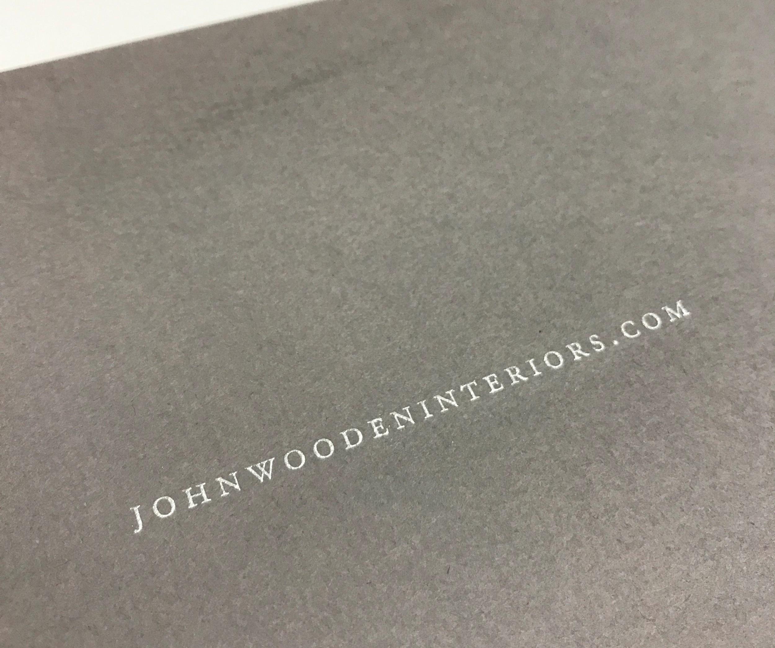 Corporate greeting card printed in Minneapolis by Anderberg Print
