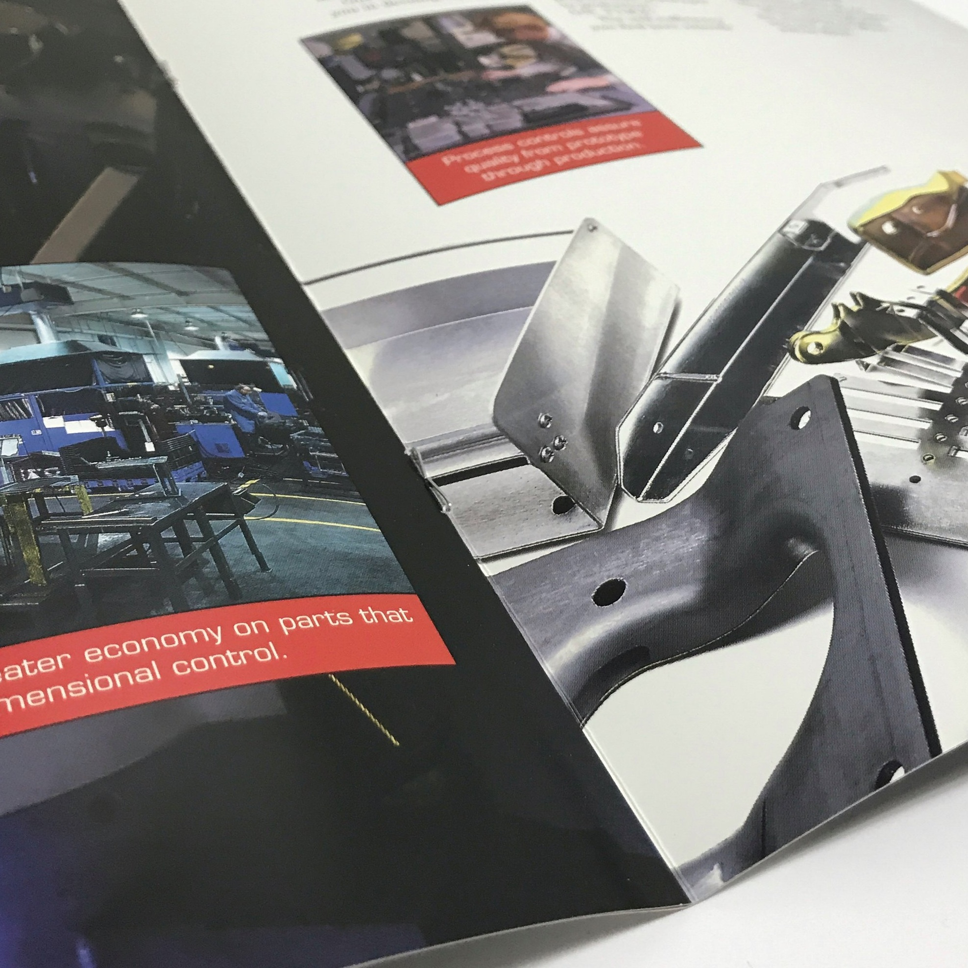 Saddle stitching for booklets and magazines at Anderberg Print