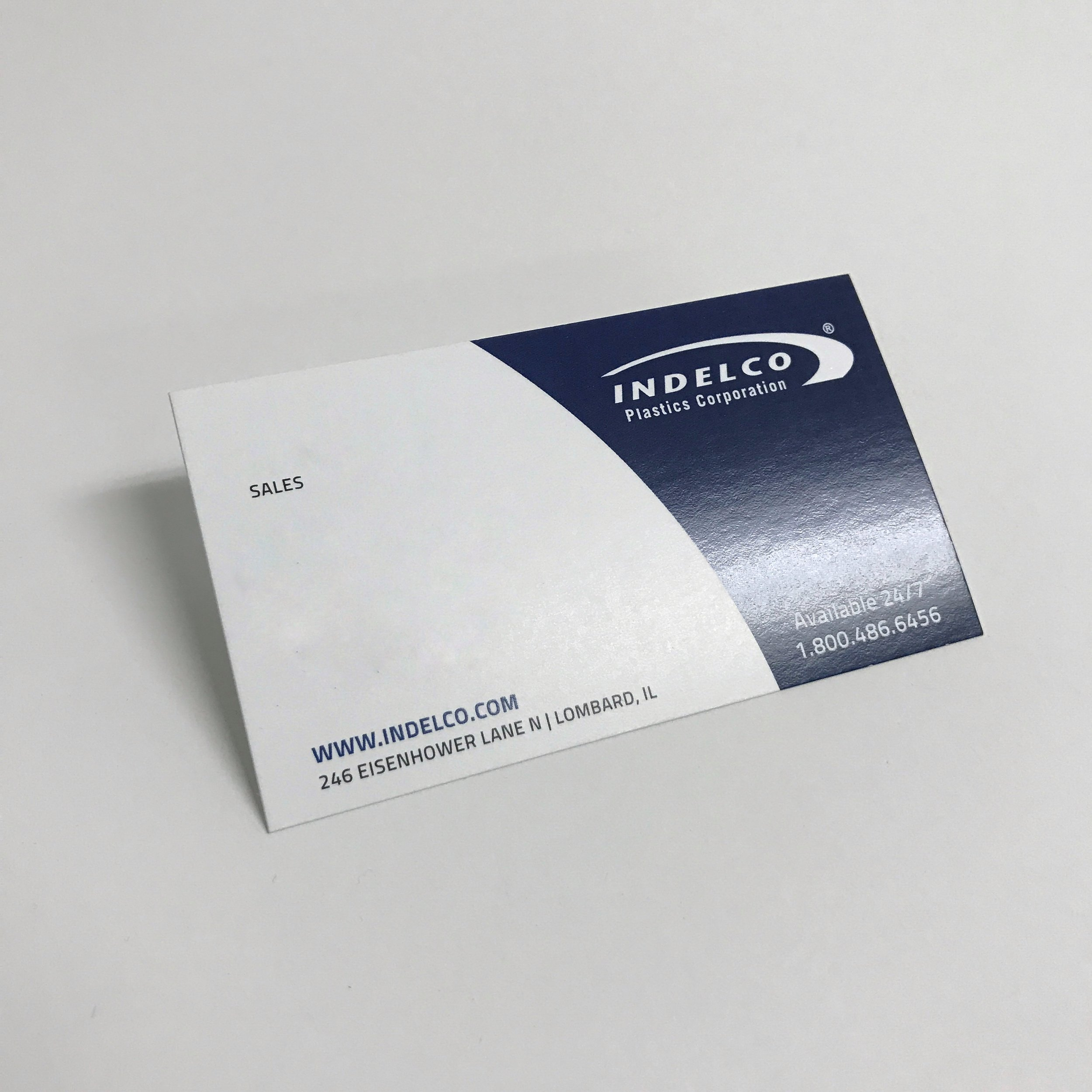 Quality standard business cards printed in Minnesota