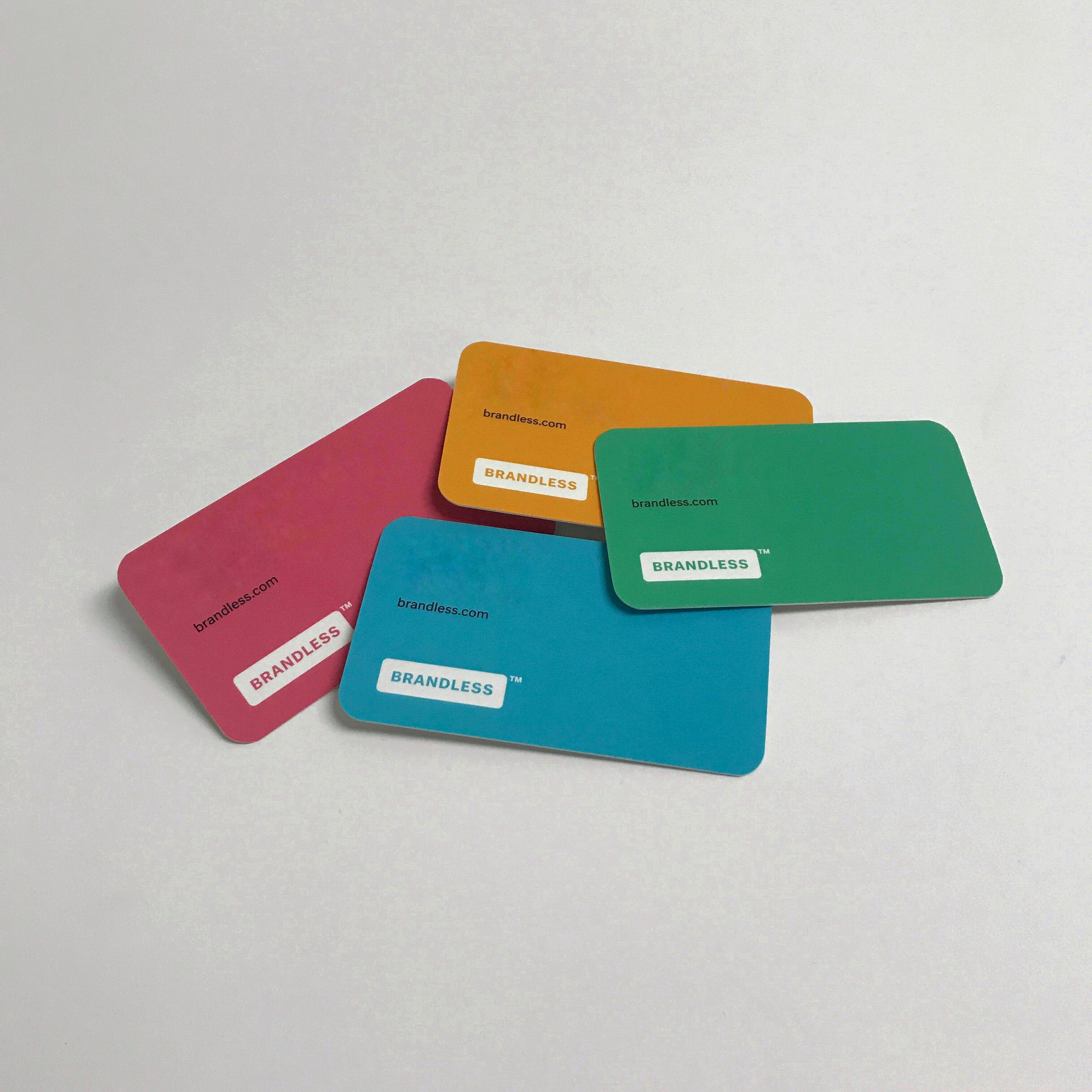 Colorful quality business cards printed in Minnesota