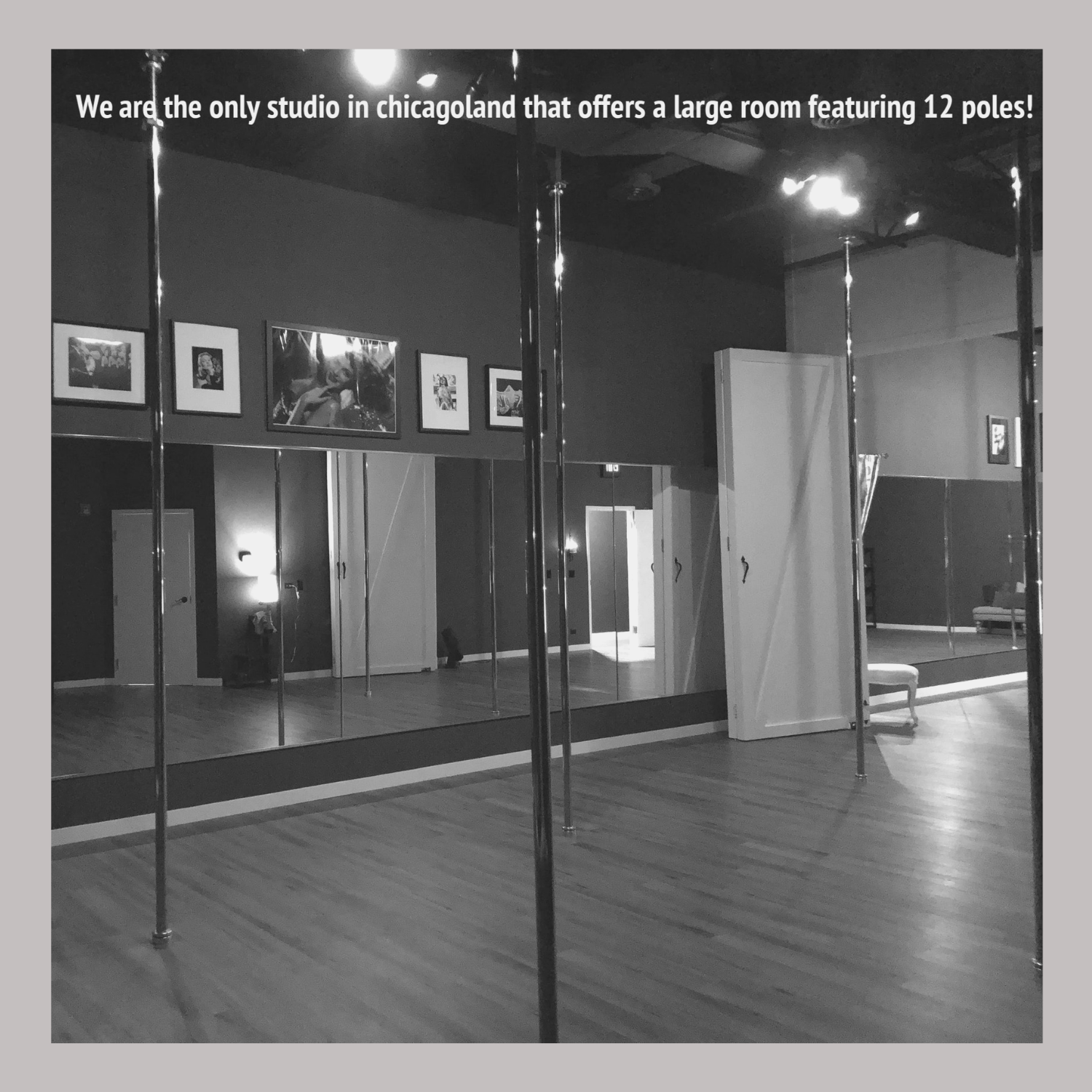 Please note that we will only open the connector doors providing 2 rooms and 12 poles for large parties.