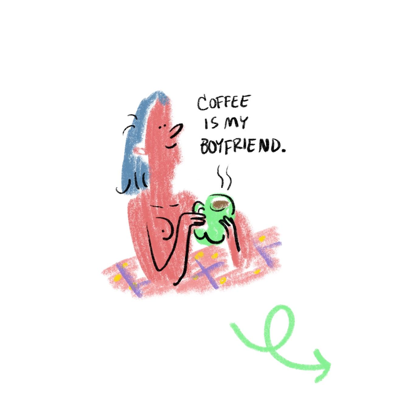 Coffee is my BF - Comic Short