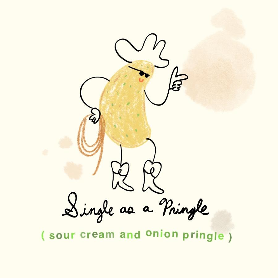 Single as a Pringle