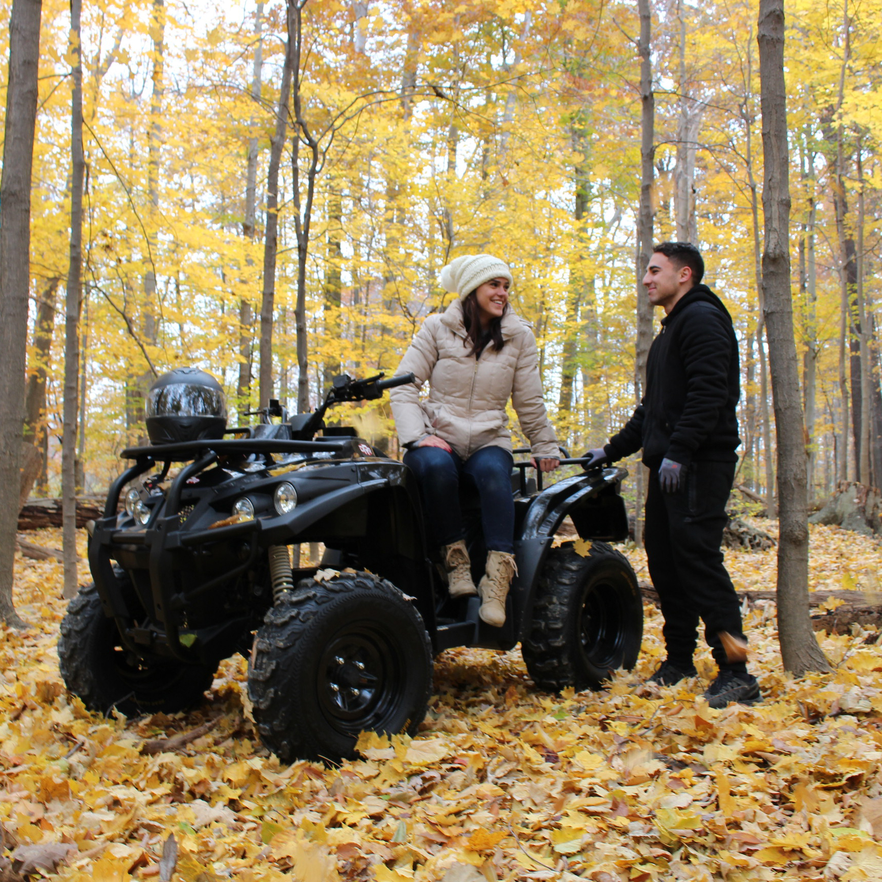 DRR USA Stealth Electric ATV Couple in Nature.jpg