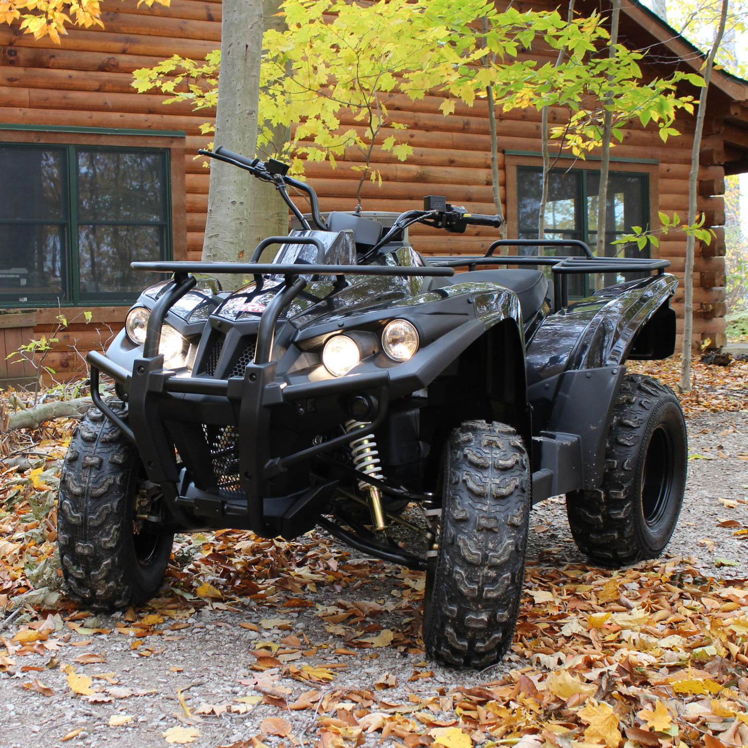 Stealth Electric ATV Cabin in the Woods.jpg