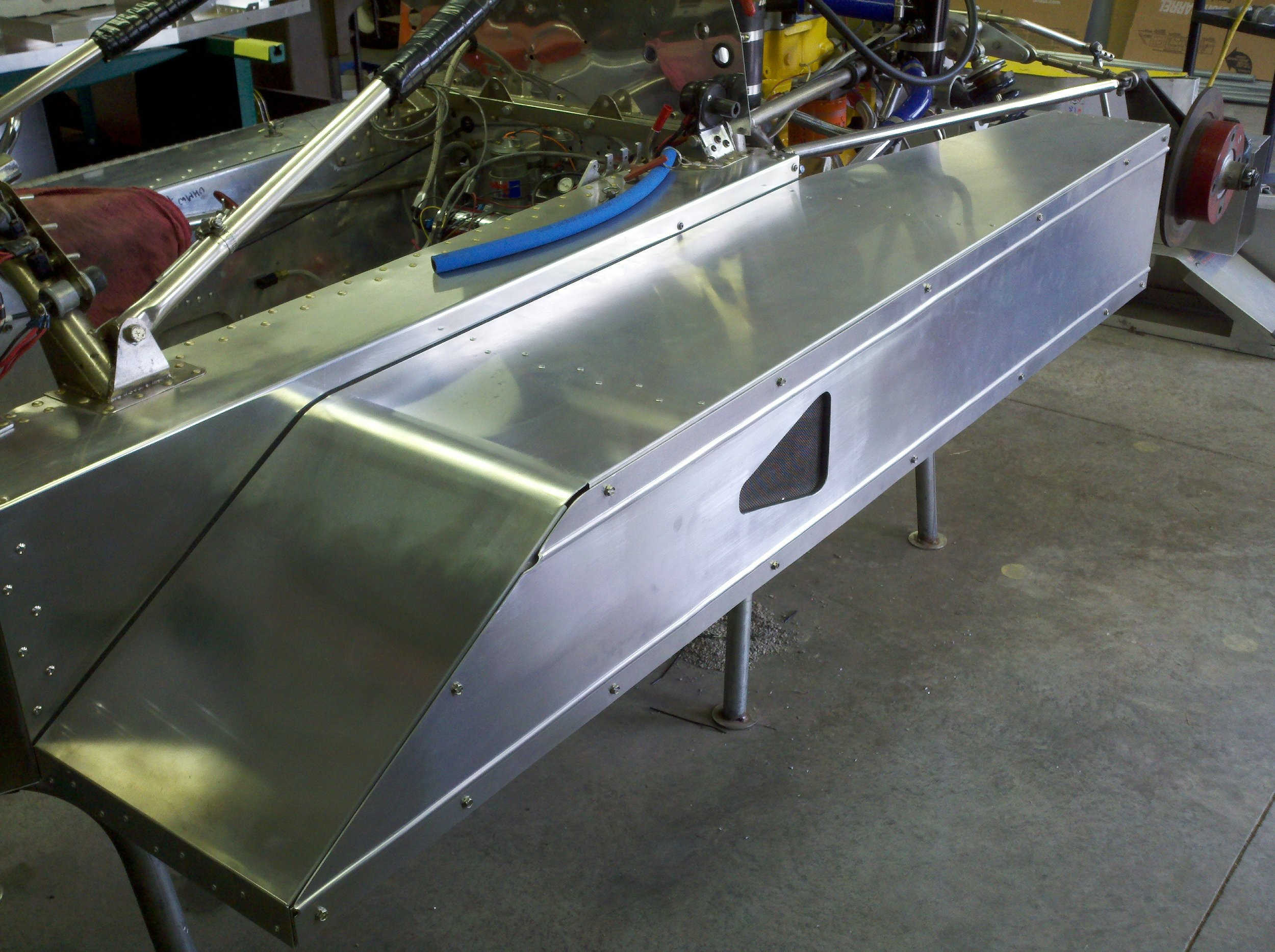 New Side Pod