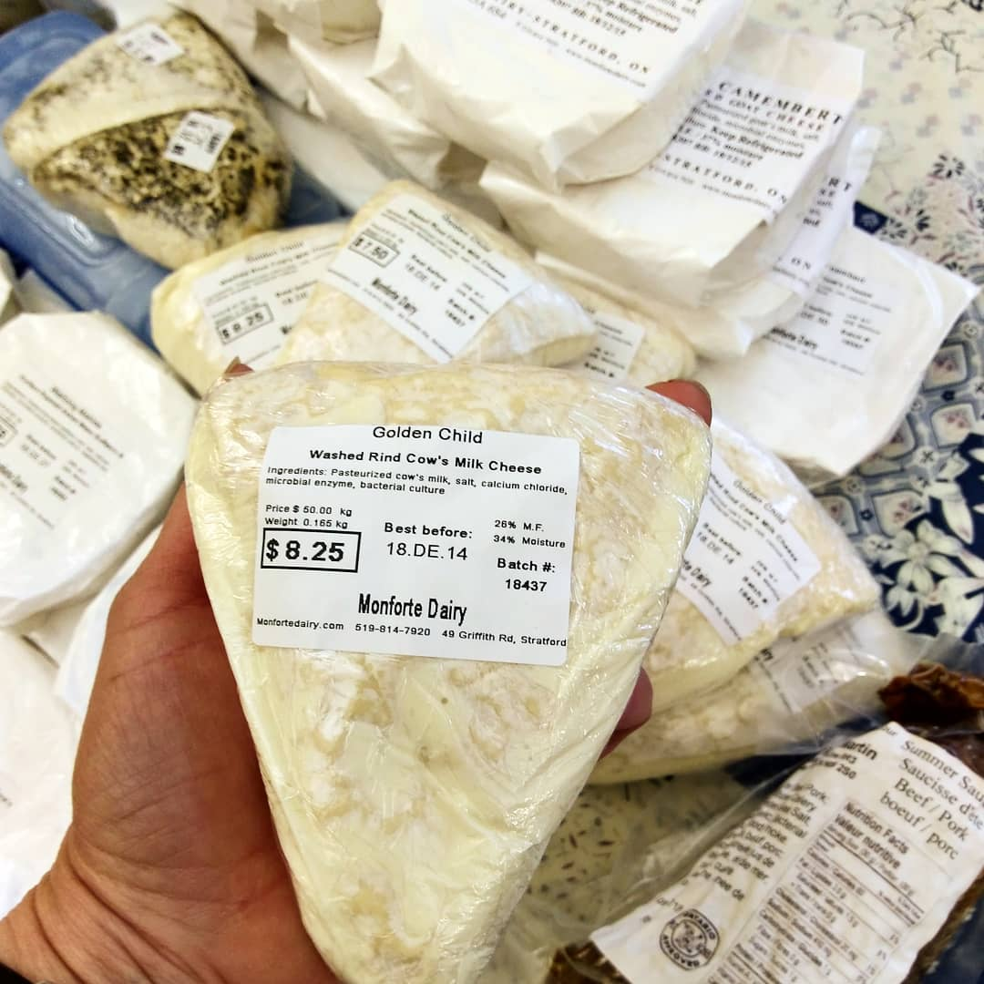Monforte Dairy     located in Southwestern Ontario offers artisanal cheese.