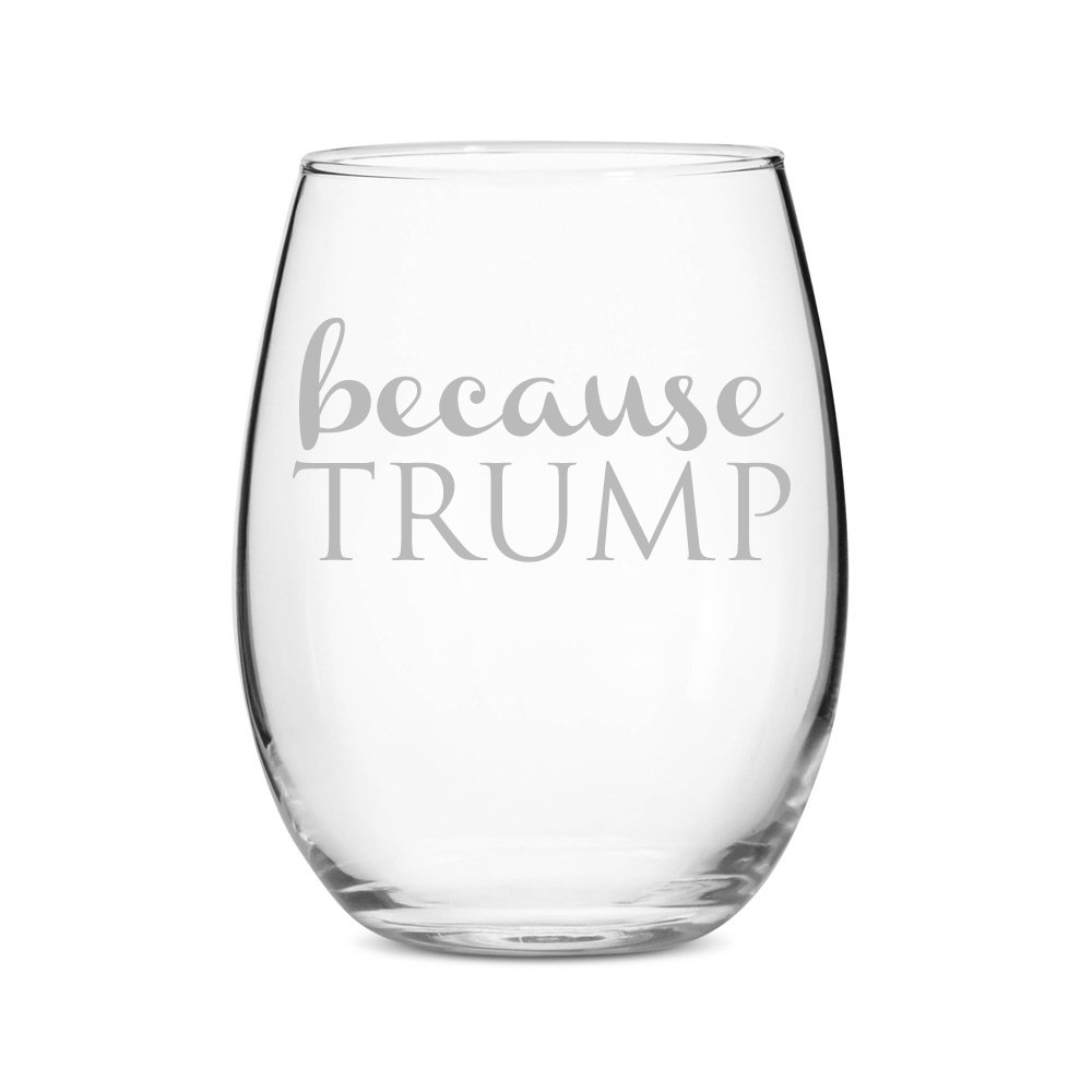 Copy of Stemless 15 oz Wine Glass - $12.99