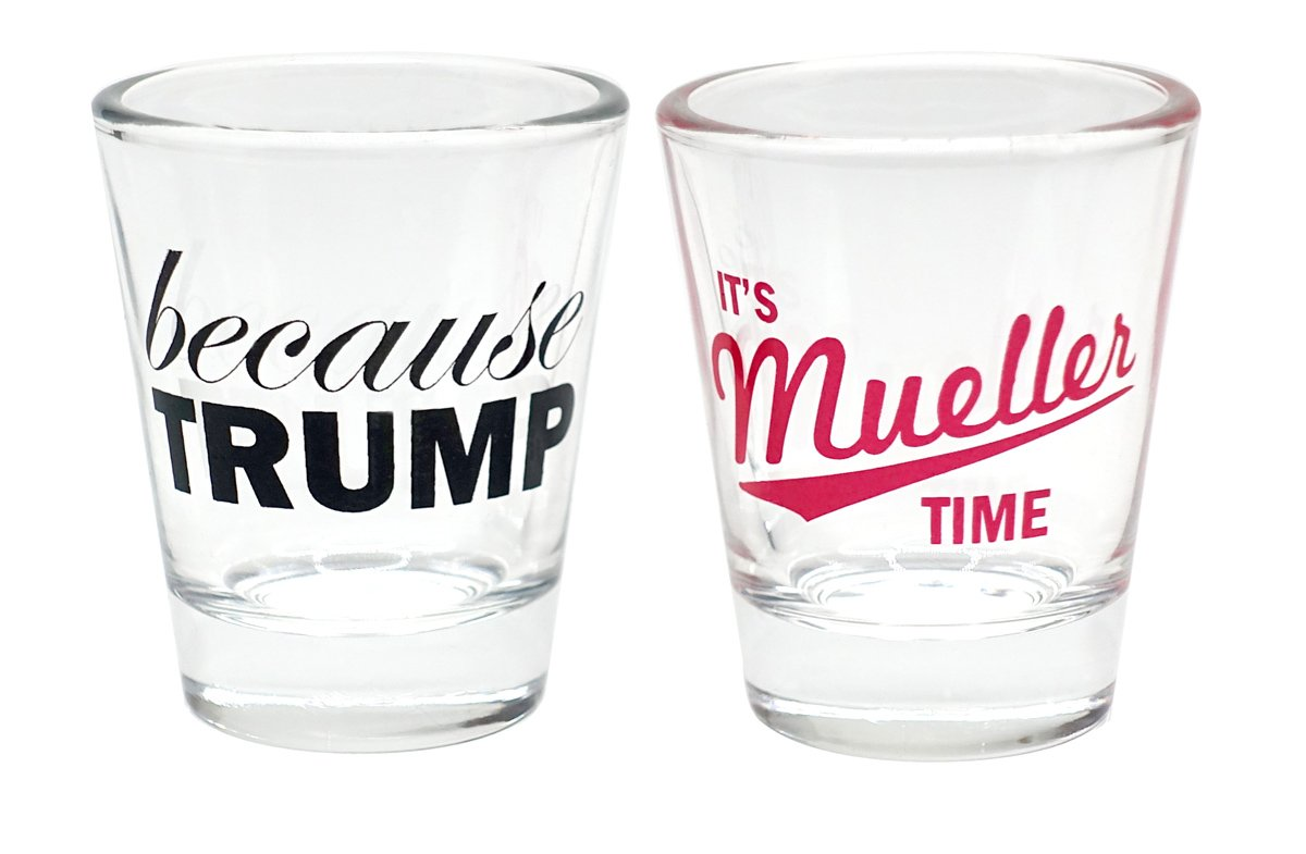Set of 2 Shot Glasses - $17.95