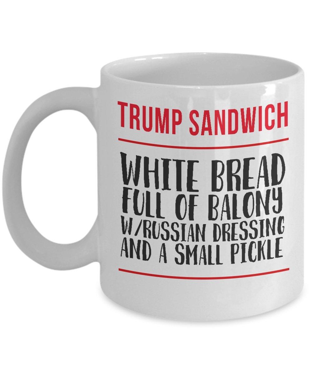 Copy of Trump Sandwich Mug - $18.99