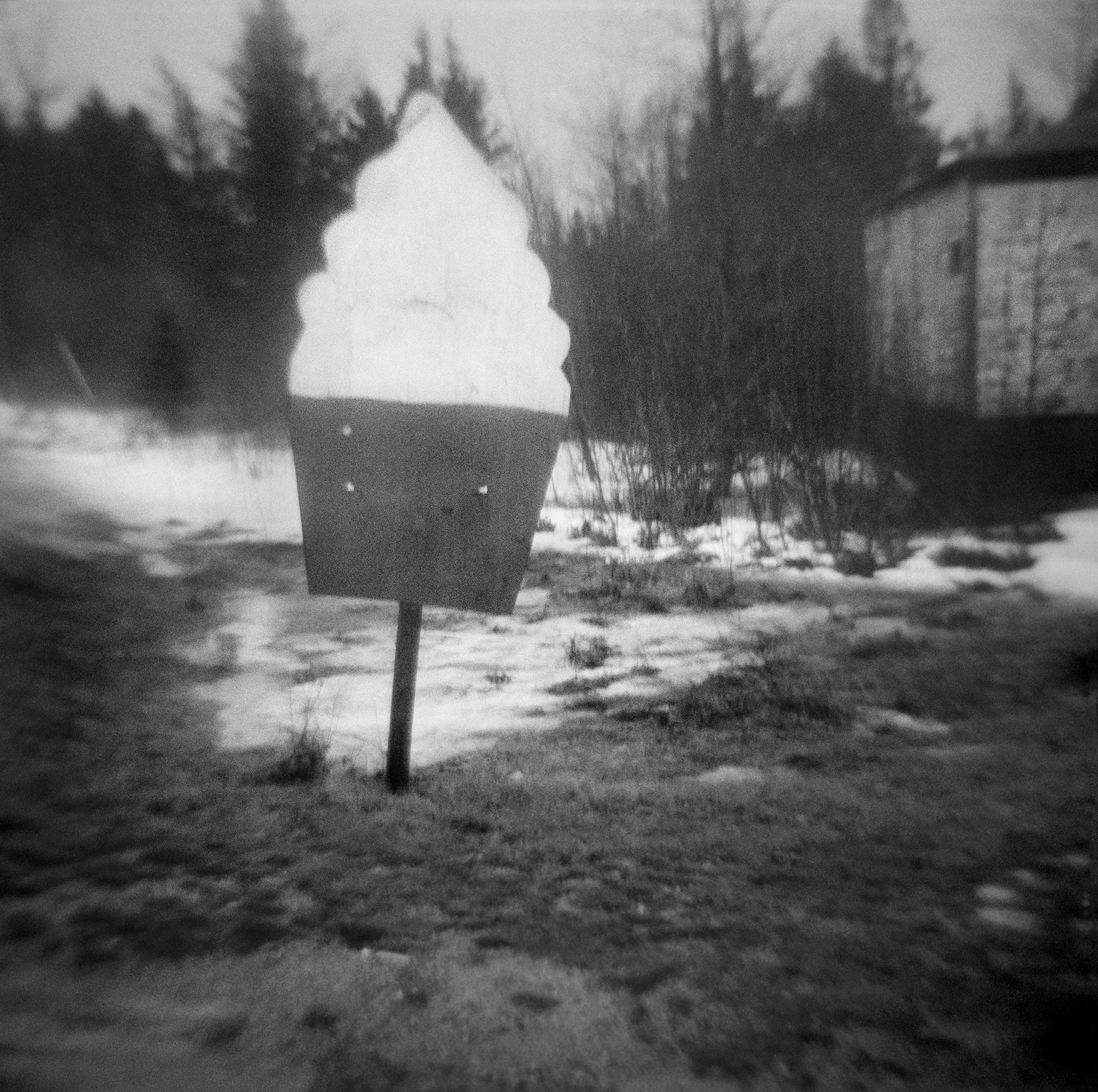 Untitled (ice cream sign), 2013