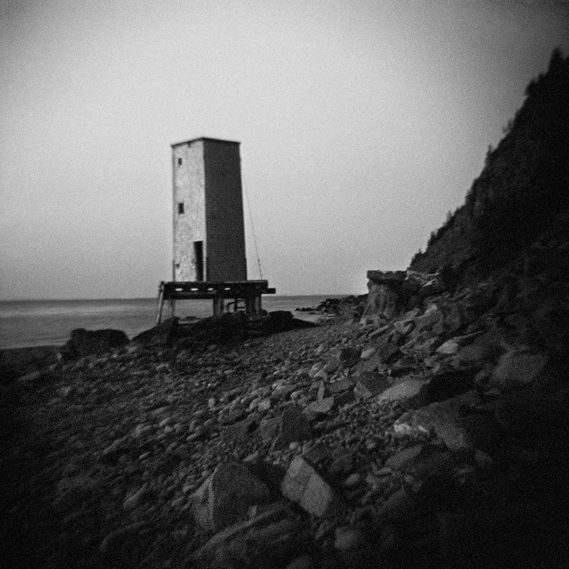 Untitled (shore tower), 2014