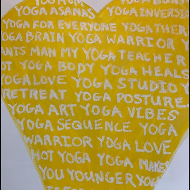 💛Thanks to Kathleen Palmeri @kpalm_fineart, our Open Heart Yoga vibe is enriched 💛 Look for our email launch- dm me ur email if u want to be added to our list! Our first classes are on #Earthday April 22nd, after #Passover #Easter weekend!  When you practice with Open Heart Yoga, you are also giving your same yoga package to one of our Community Partners. Check them out in the hashtags below :-) Supporting this nonprofit helps to  support and unite our community.  #nonprofit #yogastudio #yogilove #meditation #namaste #love #practiceandgive #vinyasa #balanced #redbank #openheartyoga #openheartyoganj #180turninglivesaround #beautyfoundation #dosomethingbeautiful  #bloomagain #countbasie #thebasie #jbjsoulfiundation #lunchbreak #parkerfamilyhealthcenter  #riverviewmedicalcenter #stephysplace #thetiggerhousefoundation  #vnahg#💛 #LoveLoveandmoreLove 💛