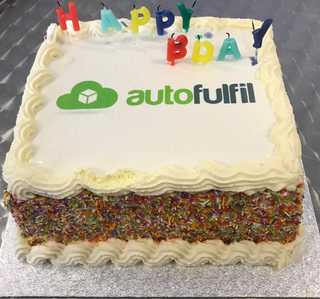 Autofulfil Fulfilment Centre Ireland - Birthday Cake