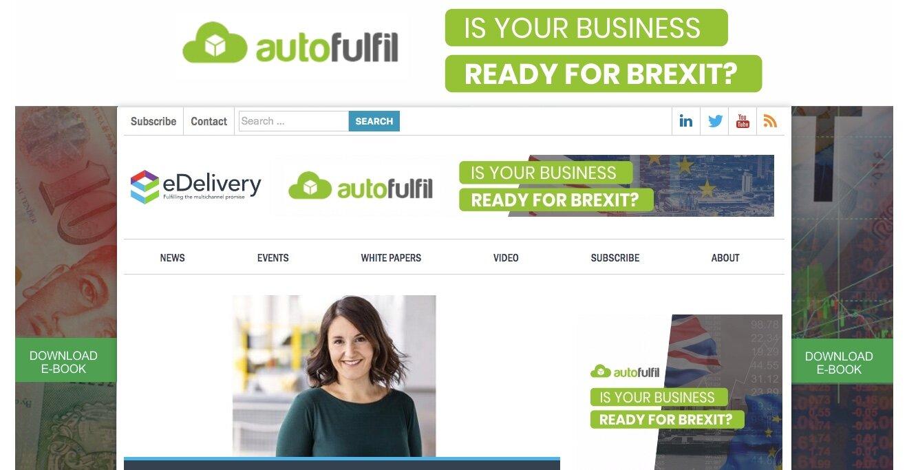 Brexit - Autofulfil.com screenshot on eDelivery.net