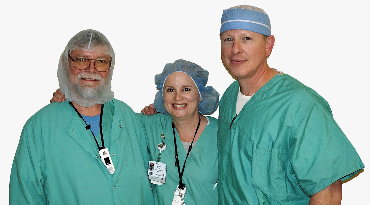 "Dr. Huffaker and his staff are dedicated to exceptional patient care before, during and after surgery. Each member of this tightly knit team combines specialized skills and knowledge with a ""bedside manner"" of warmth, concern and genuine kindness."