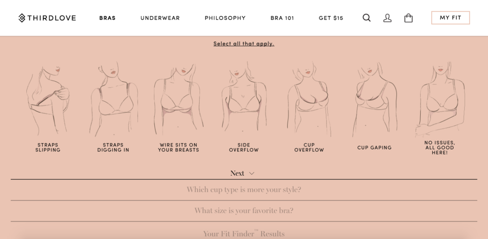 New Year, New Comfort with ThirdLove | I've been in touch with the team at ThirdLove who encouraged me to both explore and raise awareness of real world bra-blems.