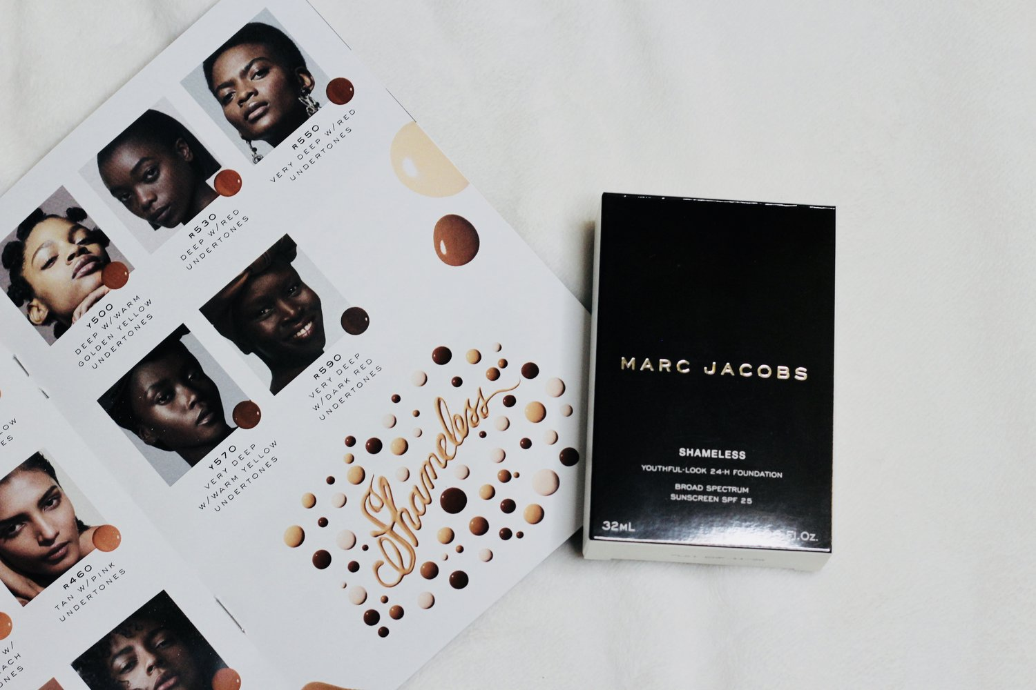 Marc Jacobs Shameless Foundation Review | I had the opportunity to try the new foundation from Marc Jacobs and shared my honest thoughts. Read more on the blog.