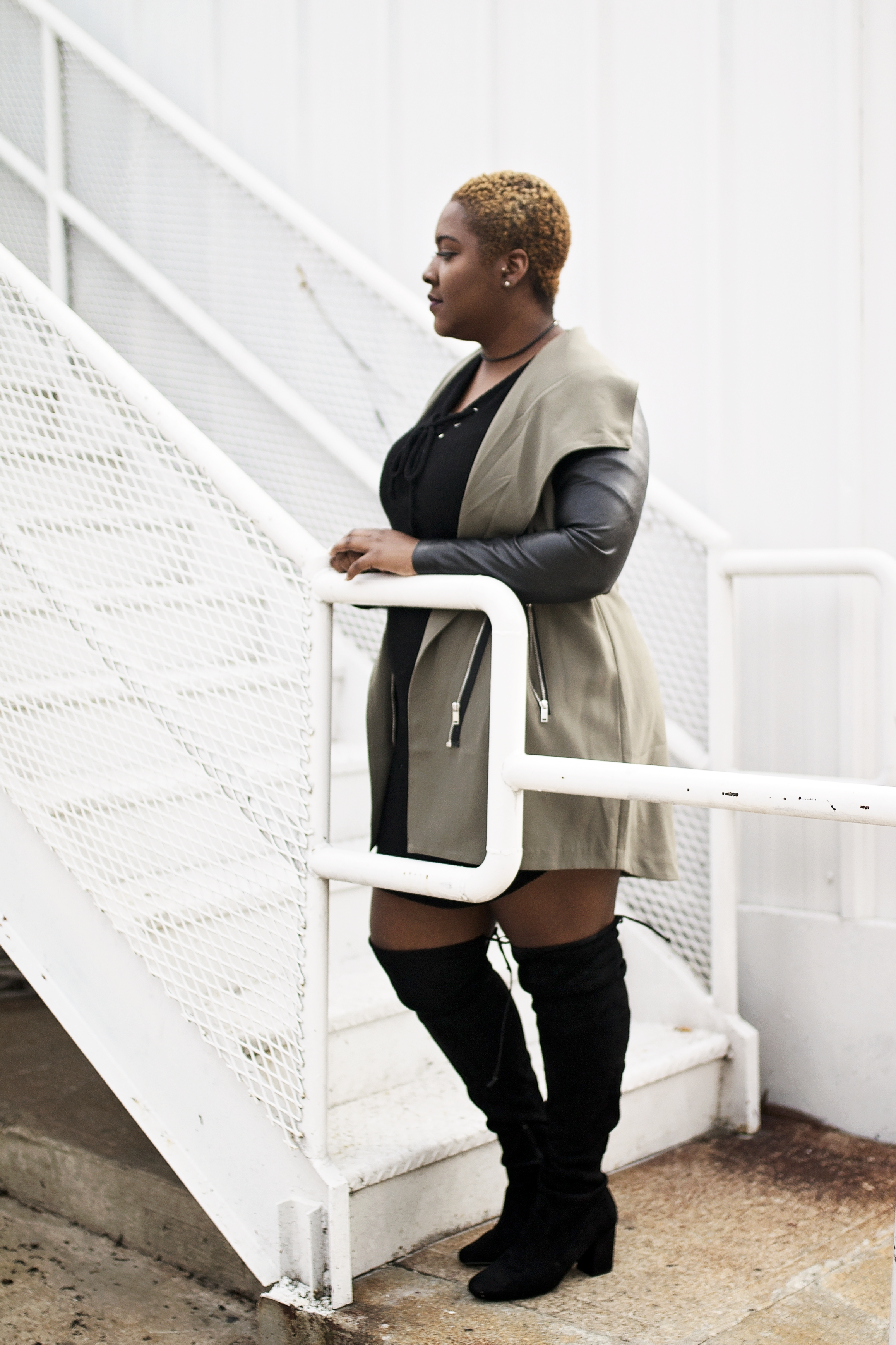 Leather and Olive   The perfect color duo for this fall and winter season.