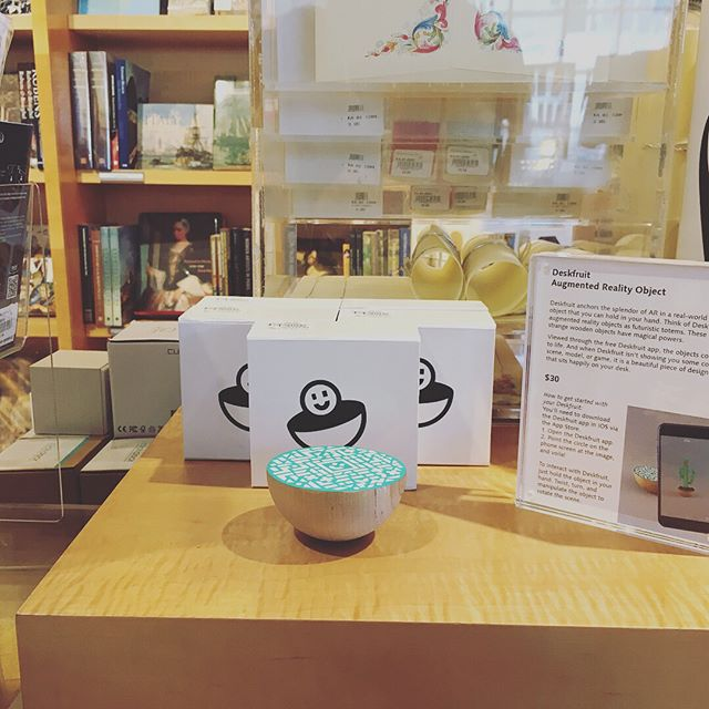 Fresh delivery of Deskfruit at The Getty Museum store! 👀👀👀 Link in bio.