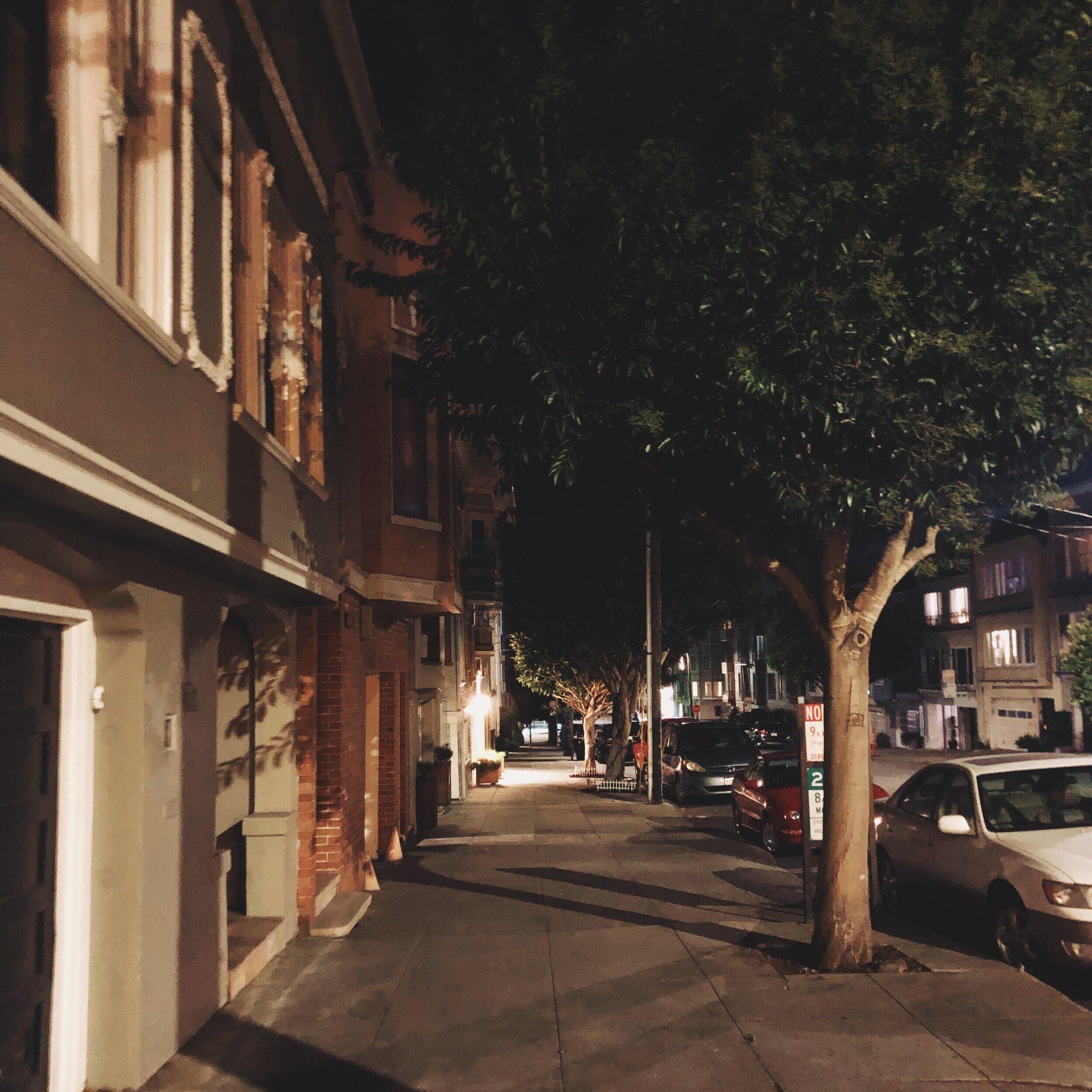 walking alone at night as a transman