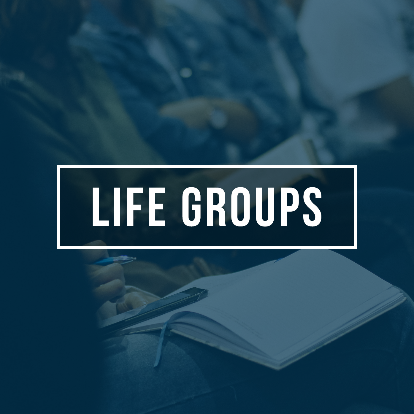 Life Groups - You were created on purpose, with a purpose, for a purpose. No matter where you are in life, we have a group for you.