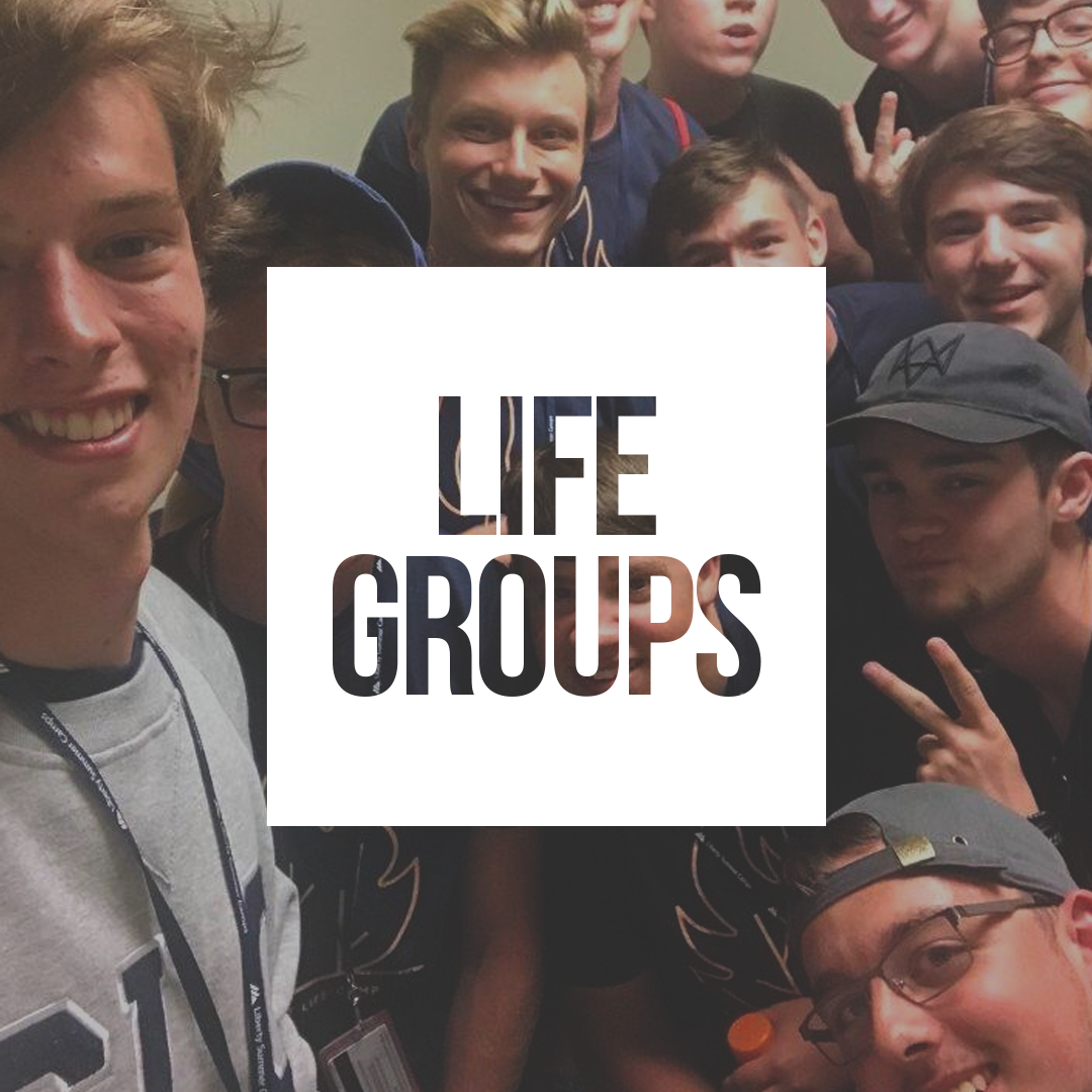 We Can't Do Life Alone - Life Groups are designed to give students a community of believers that they can pursue life with Christ together. Led by a caring adult leader, these Life Groups discuss a variety of subjects and life topics as they study through the Word of God.Find a group of friends who understand what you're going through and see how Christ-centered relationships can impact your life.Life Groups meet on Sunday morning at 8:30, 9:40 and 11:00am in the Gym.