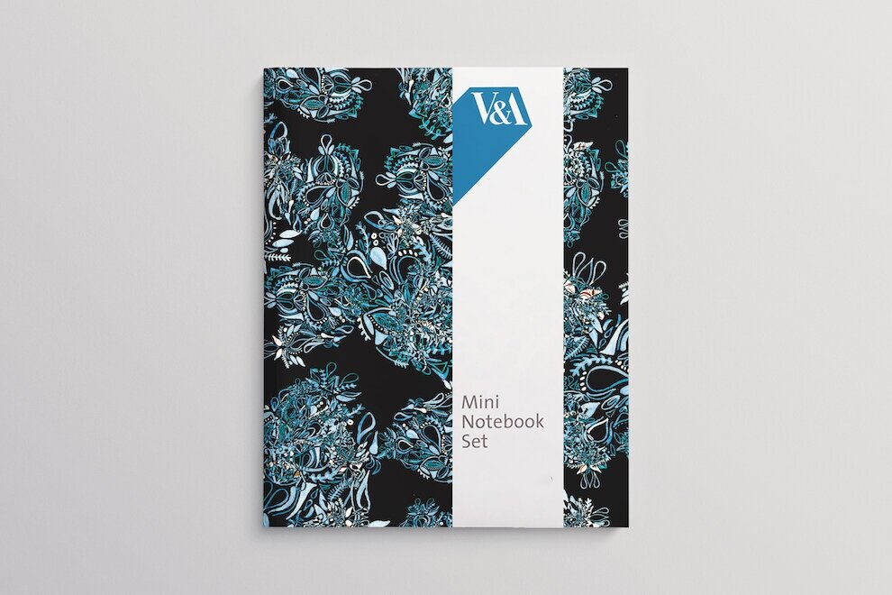 Speculative NotePad Design for the V&A, 2019.