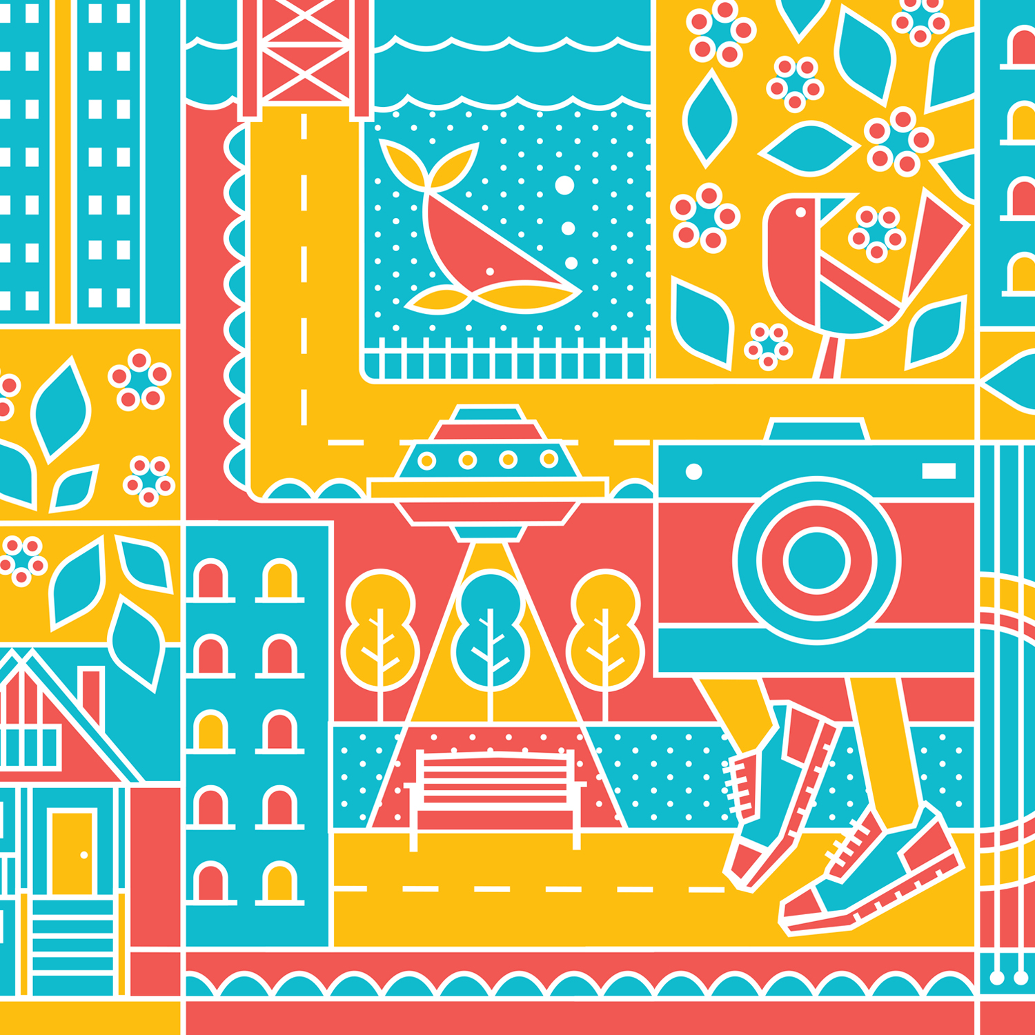 City of Vancouver: Wrap Project - MURAL + ILLUSTRATION