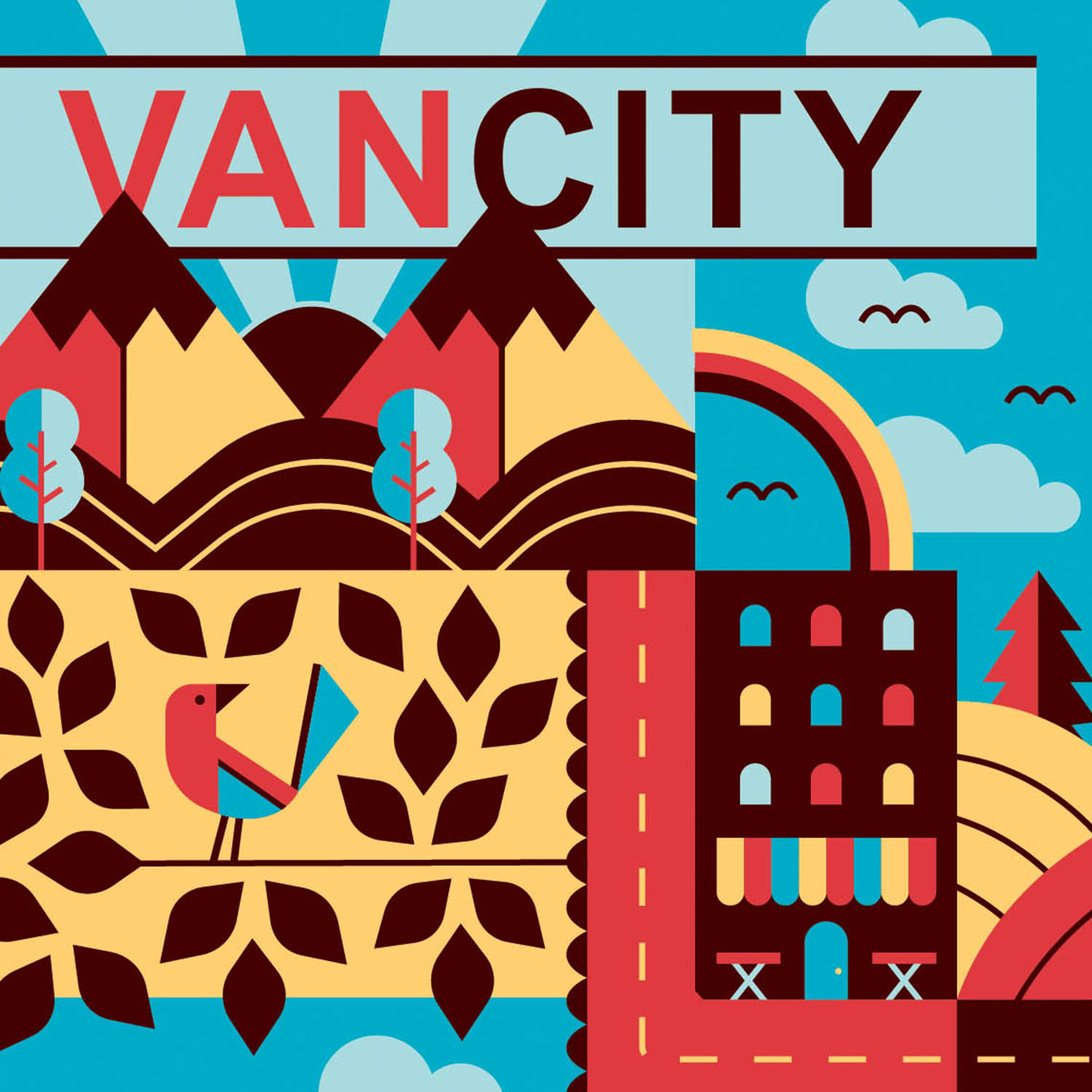 Harry Magazine: VanCity Feature - ILLUSTRATION + PUBLICATION