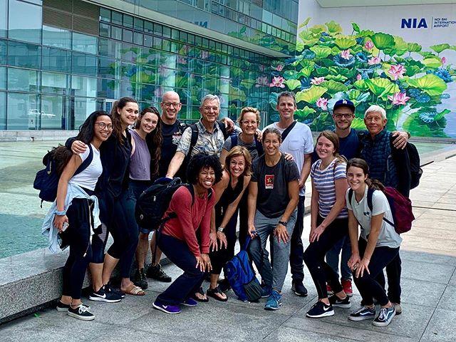The 2019 team lands in Vietnam!