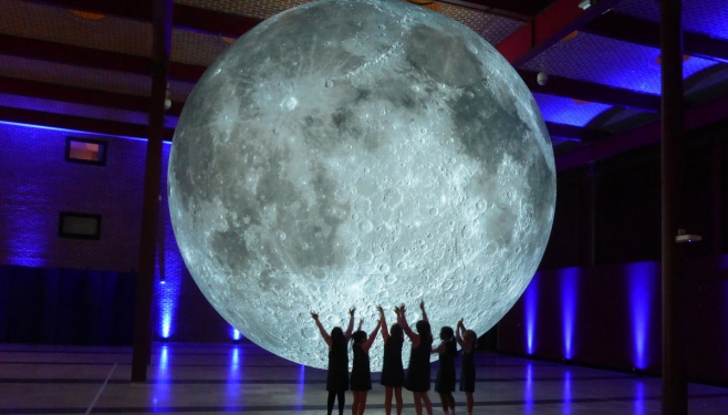 Image credit: Museum of the Moon © Luke Jerram, Carolyn Eaton.