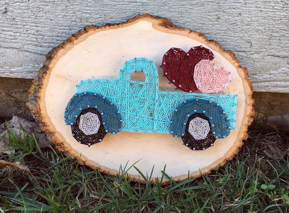 Southern Strings - Hand-Crafted String Art Decor by Lauren S. BrownCustom Orders AcceptedAvailable for local pick-up in Bowling Green, KY and Franklin/Brentwood, TNCheck out her inventory on Facebook!Email laurensbrown6@gmail.com