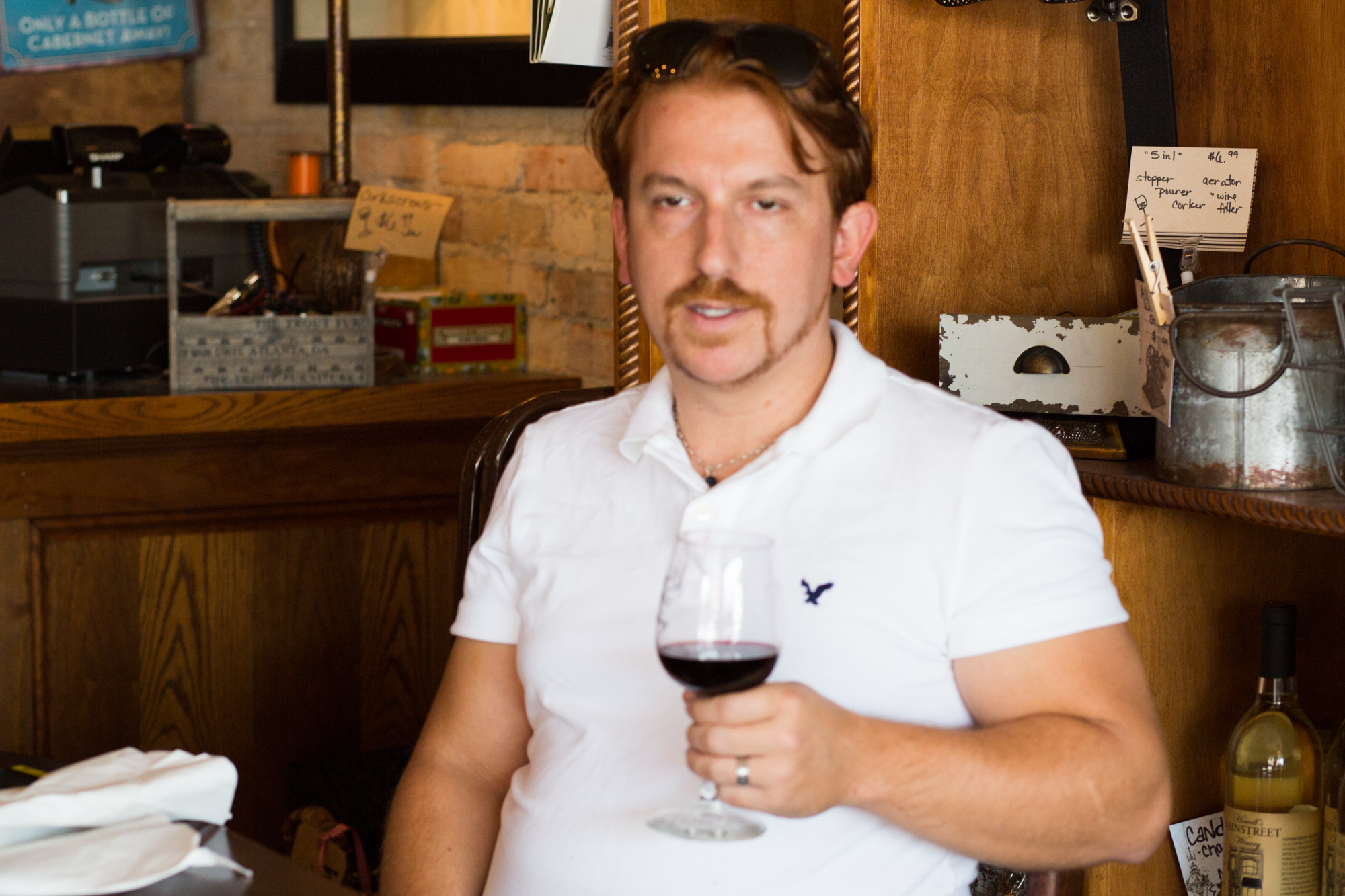 A wine connoisseur, he writes a blog about Michigan Wines !!!
