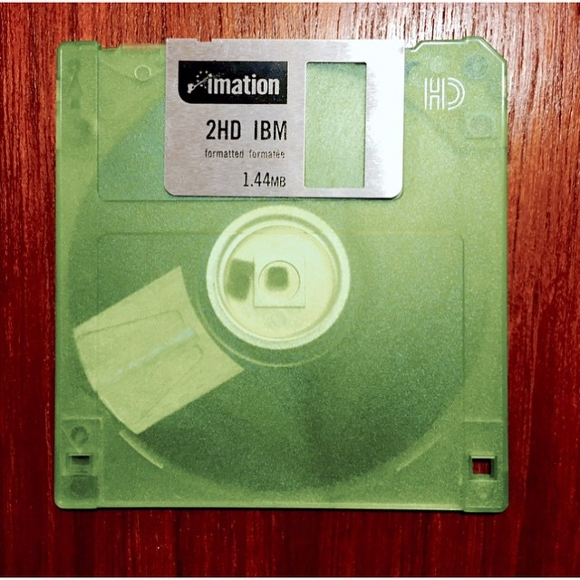 This floppy is actually a stiffy #scifi #lols #technology #oldshit #keepingupwiththetechnology