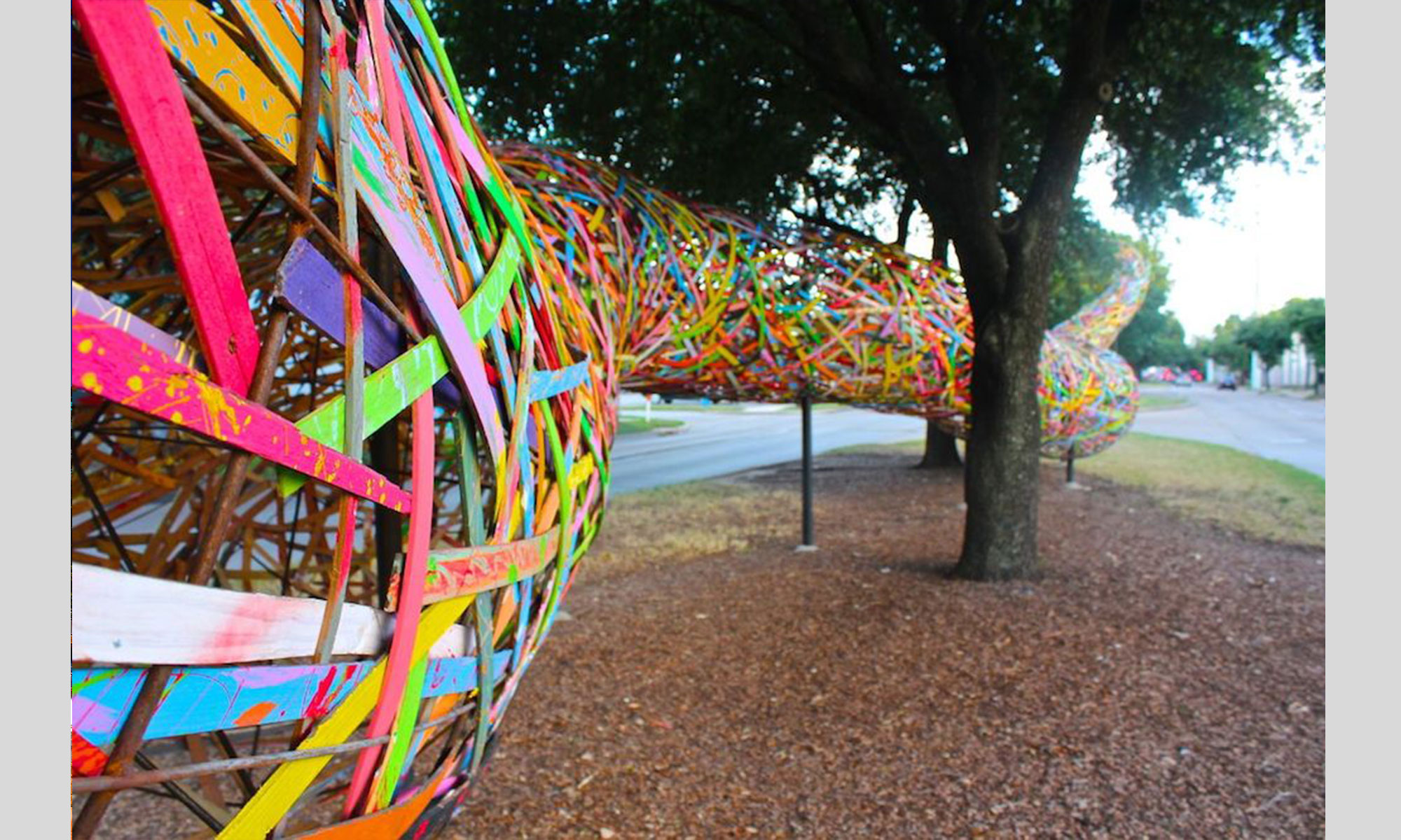 FUNNEL TUNNEL  |  Art League Houston   |  Houston, TX