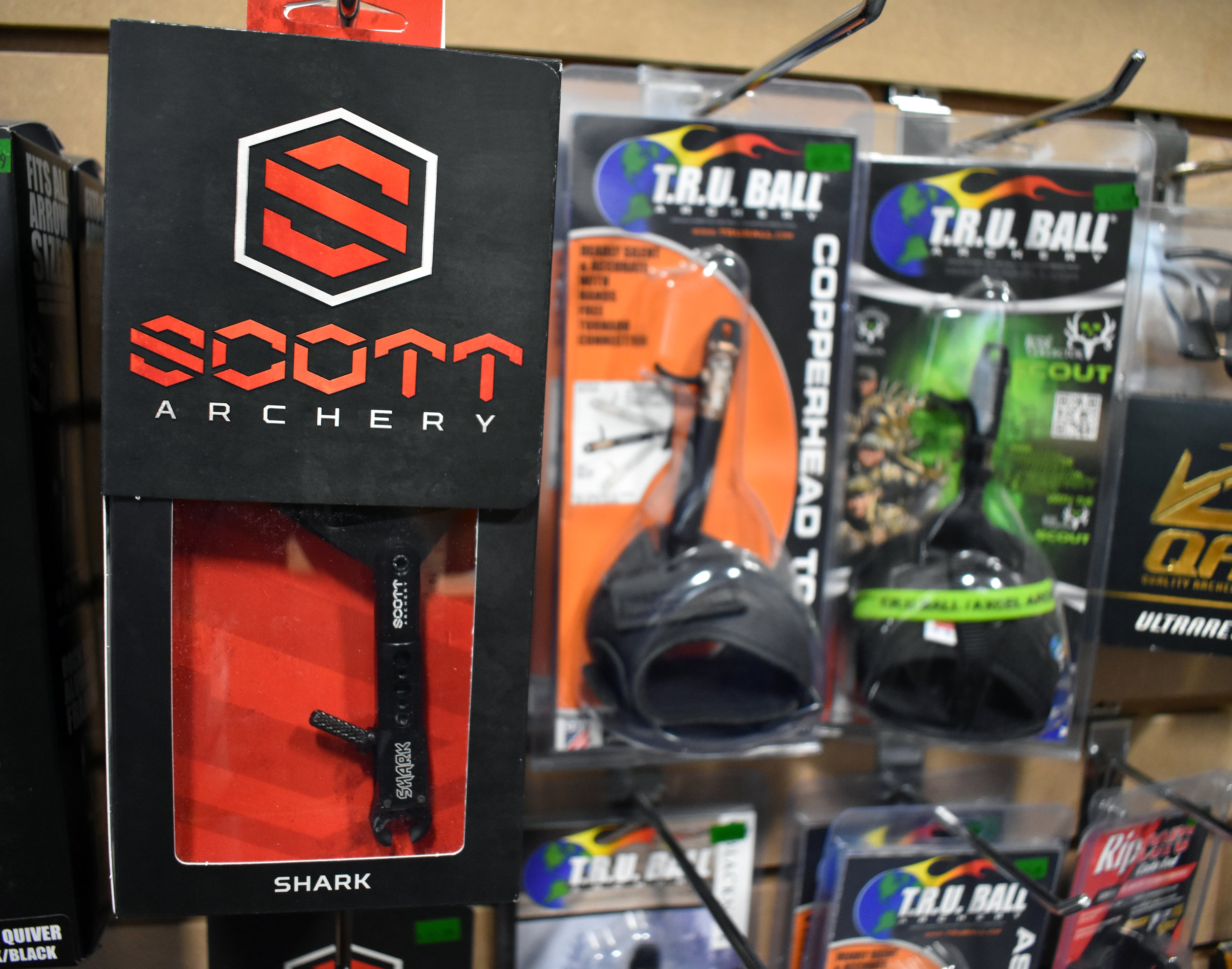 Releases - Authorized dealer of Tru Ball and B3. We also stock releases from Carter, Trufire, Zenith and Scott